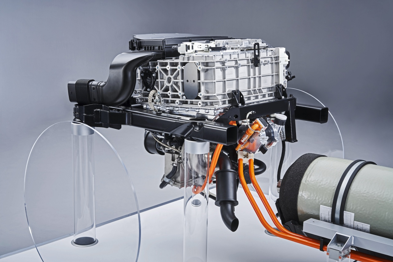 bmw fuel cell system
