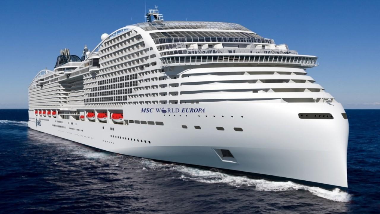 "Carburanti ""green"": Total rifornirà le future navi a GNL di Msc Crociere"