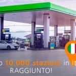 DKV celebra la 10.000esima stazione di rifornimento in Italia